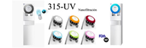 Fuente de agua 315-UV